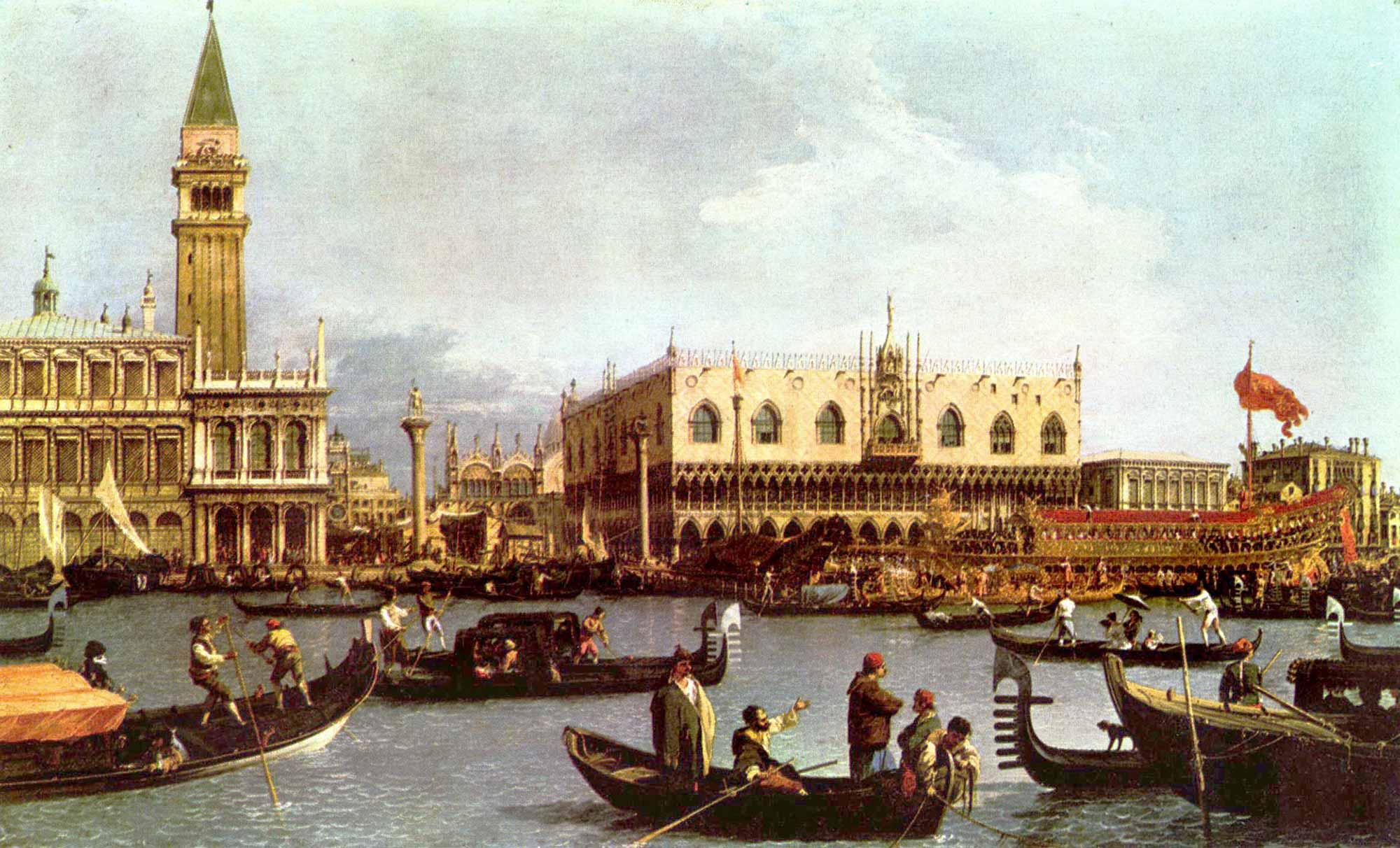 Antonio Canaletto Bucentaurus'un Dönüşü