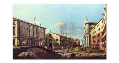 Antonio Canaletto Jesiuten Meydanı ve Kilisesi