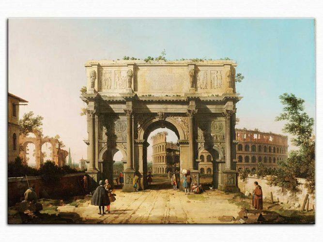 Antonio Canaletto Konstantin Kemeri ve Kolezyum