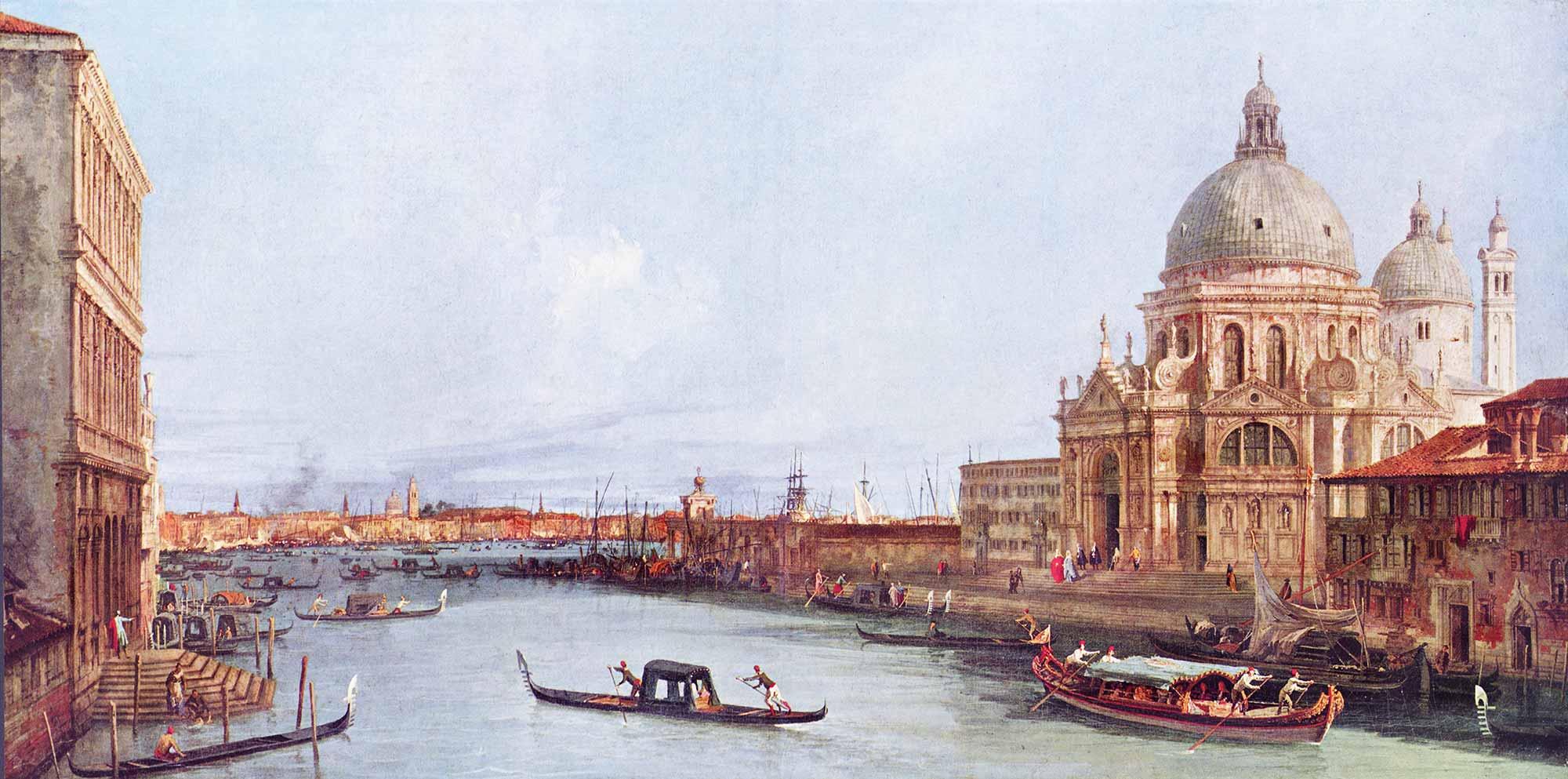Antonio Canaletto S Maria della Salute