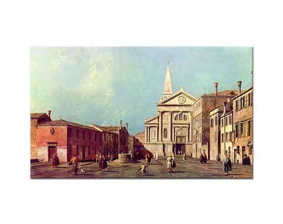 Antonio Canaletto San Francesco Meydanı