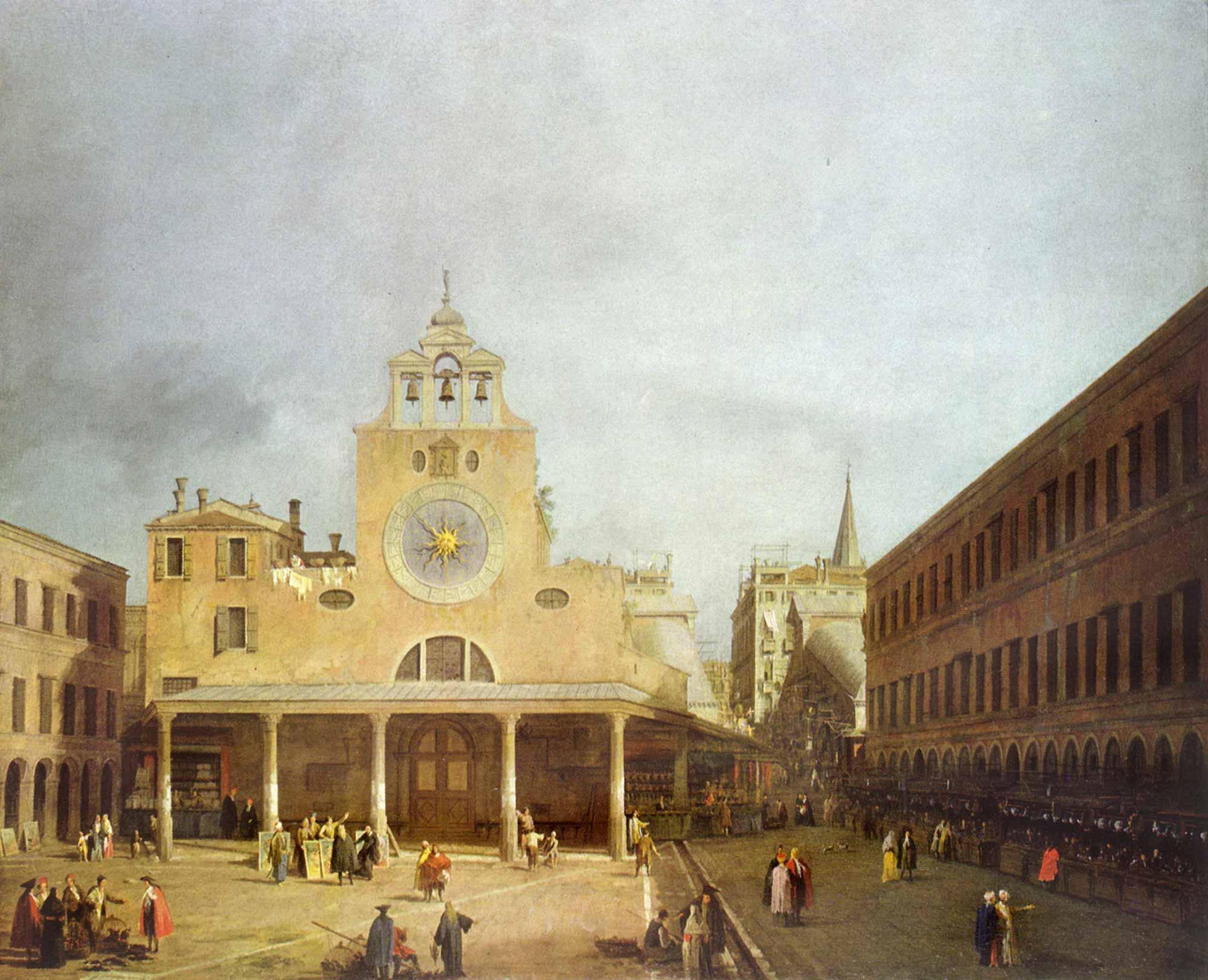Antonio Canaletto San Giacomo Meydanı