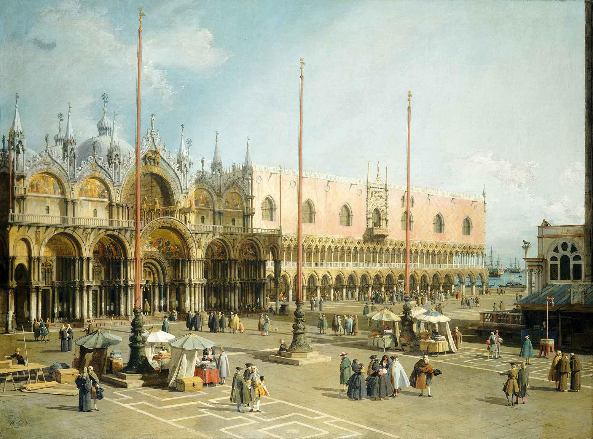 Antonio Canaletto San Marco Meydanı