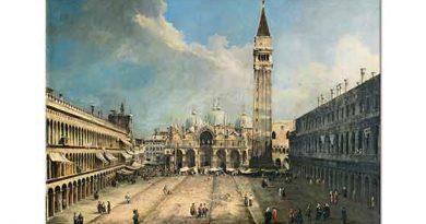 Antonio Canaletto San Marco Meydanında