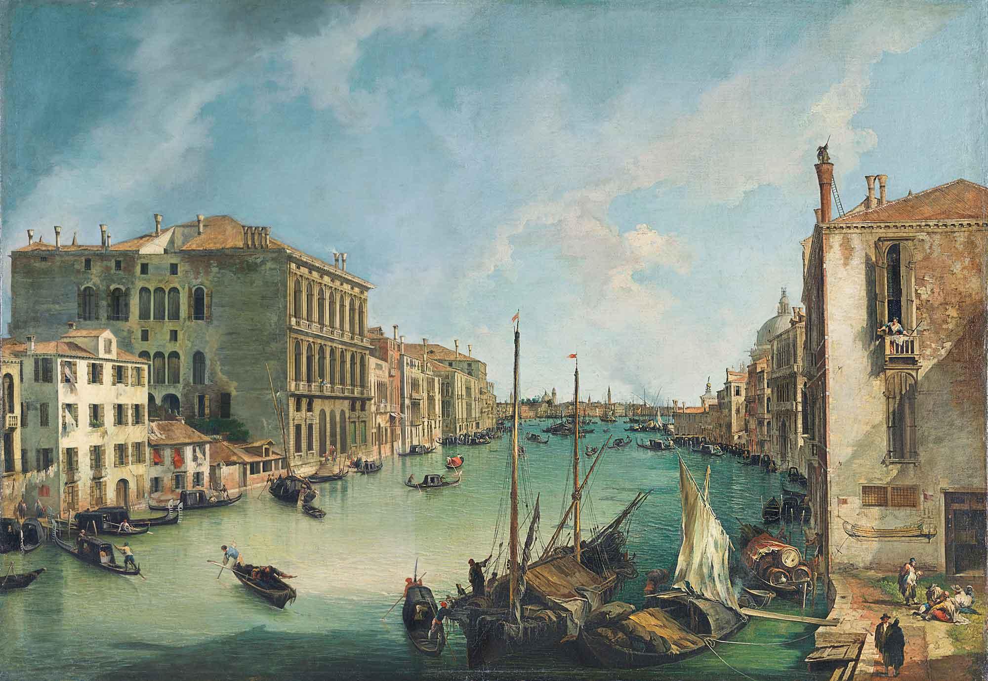 Antonio Canaletto San Vio Kanalı