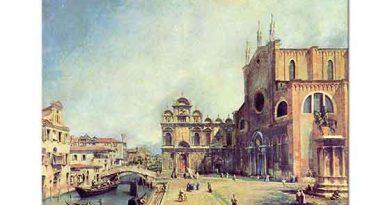 Antonio Canaletto Santi Giovanni Meydanı