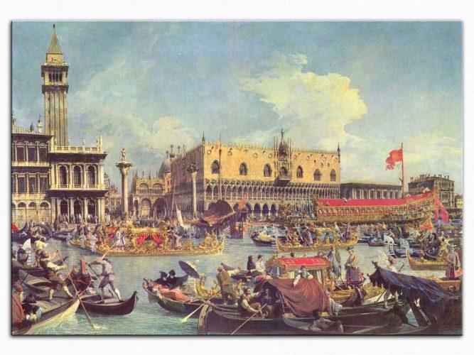 Antonio Canaletto Saray Önünde