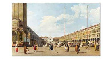 Antonio Canaletto St Mark Meydanı