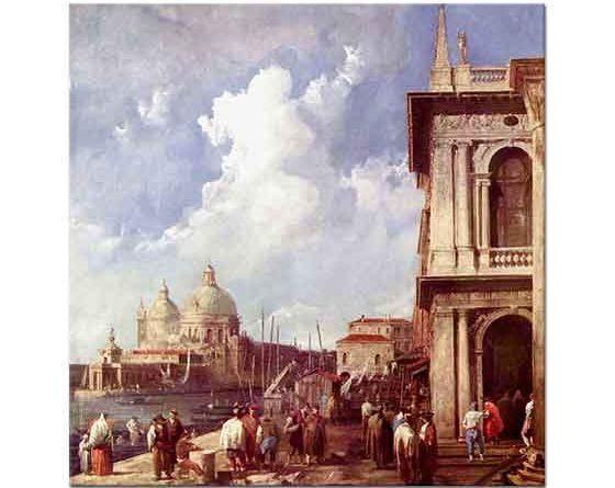 Antonio Canaletto Venedik Piazzetta