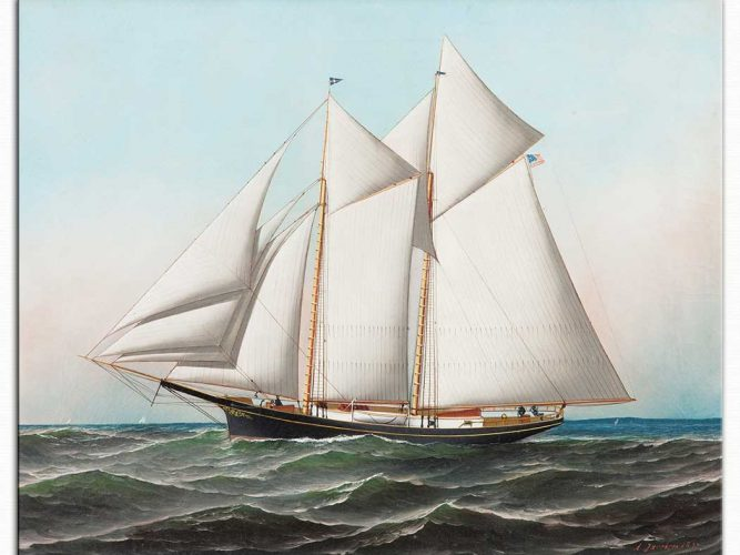 Antonio Jacobsen Amerikan Yatı