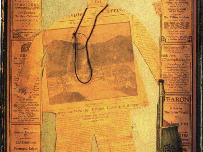 Arthur Dove Eleştiri tablosu