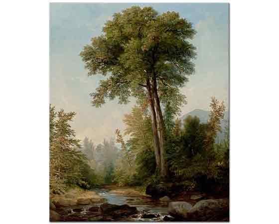 Asher Durand, Ağaçlı Manzara