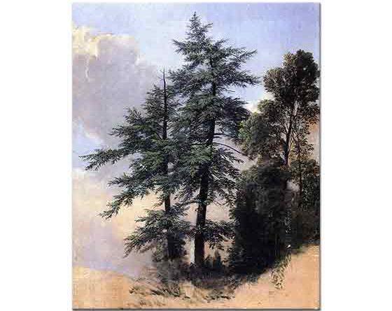 Asher Durand, Doğa Çalışması Ağaçlar
