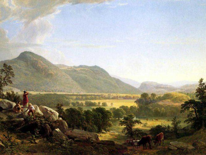 Asher Durand Dover Arazisi New York