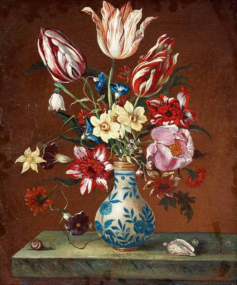 Balthasar van der Ast Vazoda Çiçekler