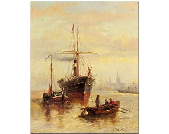 Bartolomeo Bezzi Venedik ve Liman