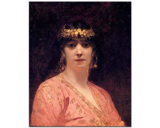 Benjamin Constant Bir Arap Kadınının Portresi
