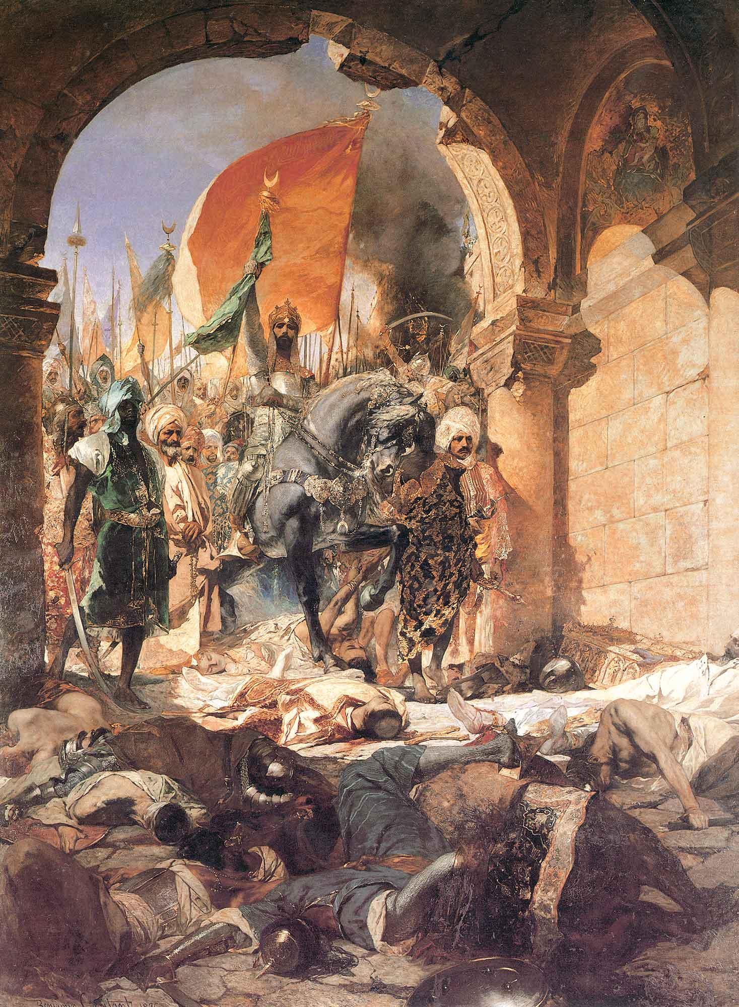 Benjamin Constant Istanbul'un Fethi