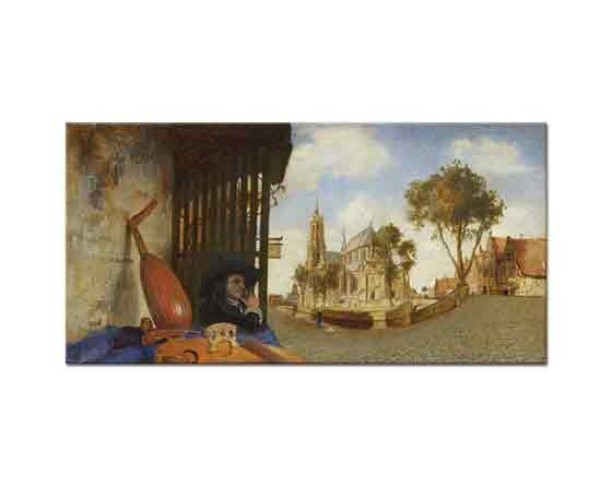 Carel Fabritius Delft'e Bakış