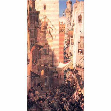 Carl Haag Mekke Hacılarının Kahire'ye Dönüşü