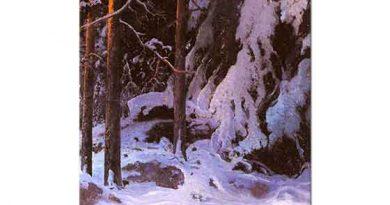 Carl Ludwig Brandt Kar Örtülü Orman