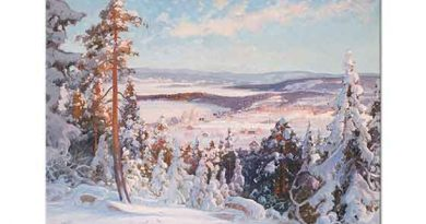 Carl Brandt Kış Manzarası