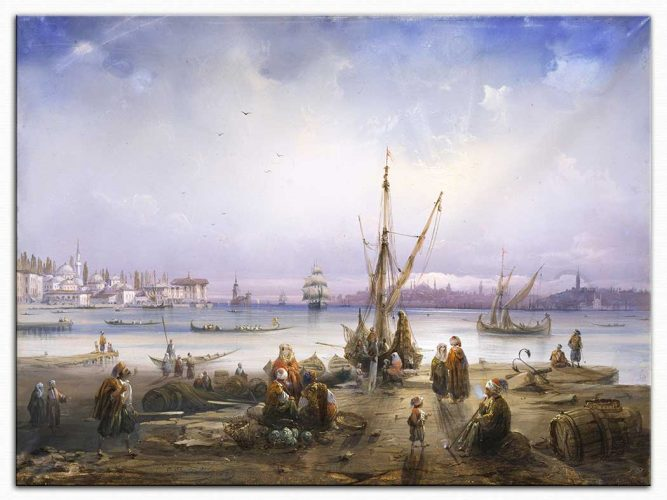 Carlo Bossoli Istanbul'a Bakış