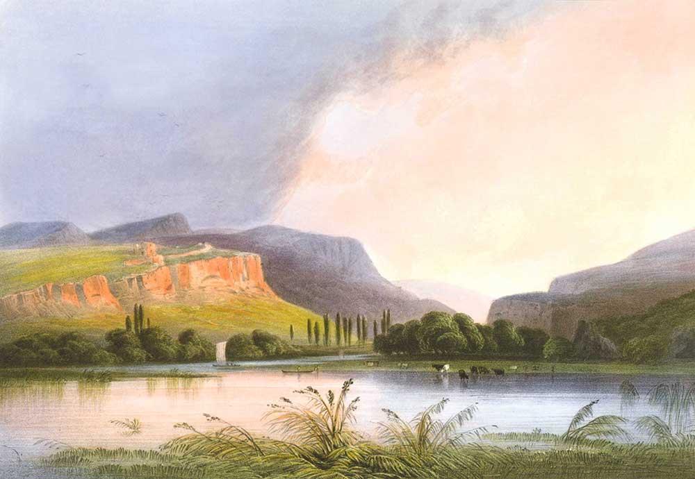 Carlo Bossoli Kara Nehir Ağzı