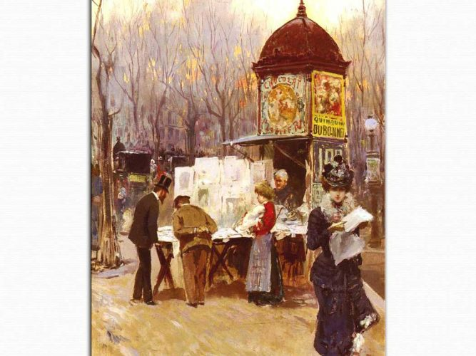 Carlo Brancaccio Gazete Bayii Paris