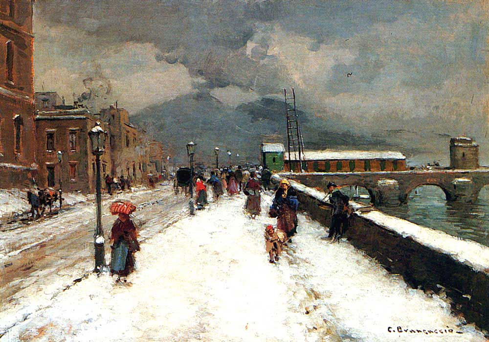 Carlo Brancaccio Rüzgarlı Kış Günü