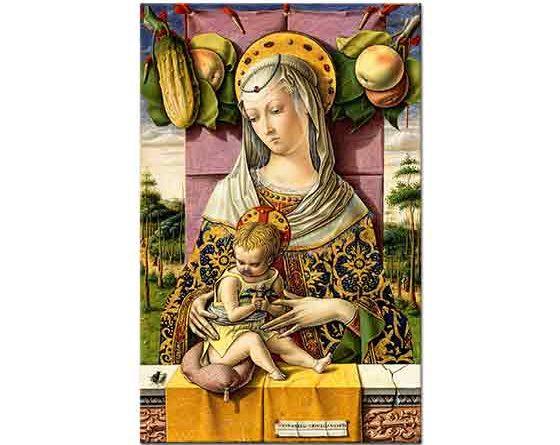Carlo Crivelli Meryem ve Çocuk Isa