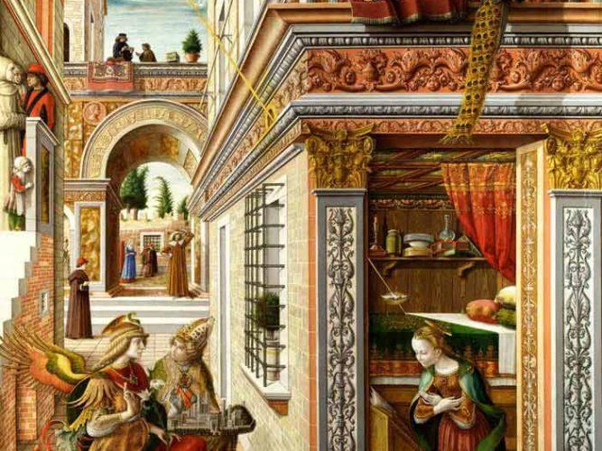 Carlo Crivelli St Emidius'a Duyuru