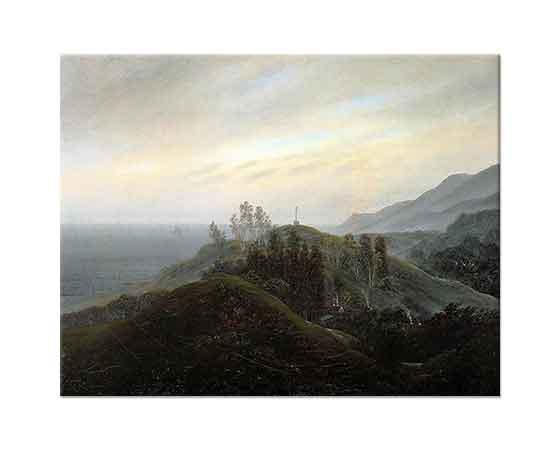 Caspar David Friedrich Baltık Manzarası