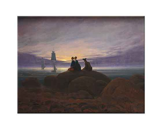 Caspar David Friedrich Denizde Mehtap Başlangıcı