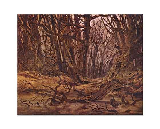 Caspar David Friedrich Orman İçleri