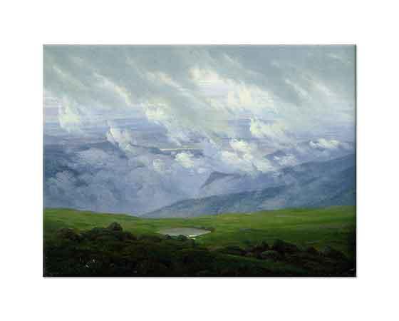 Caspar David Friedrich Sürüklenen Bulutlar