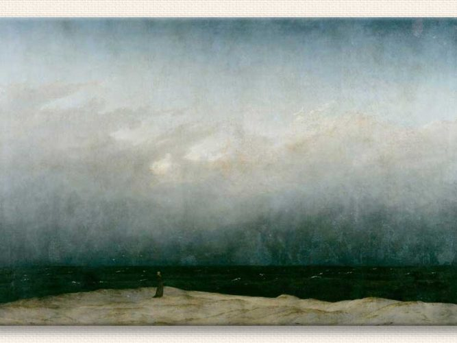 Caspar David Friedrich Deniz ve Keşiş