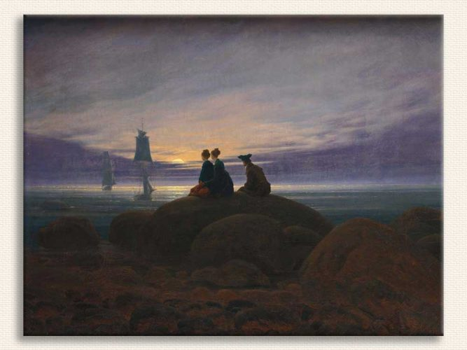 Caspar David Friedrich Denizde Aydoğuşu