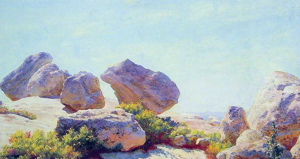 Charles Courtney Curran Kayalıklar
