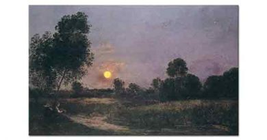 Charles Francois Daubigny Gün Batımı