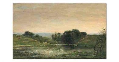 Charles Francois Daubigny Gylieu Manzarası