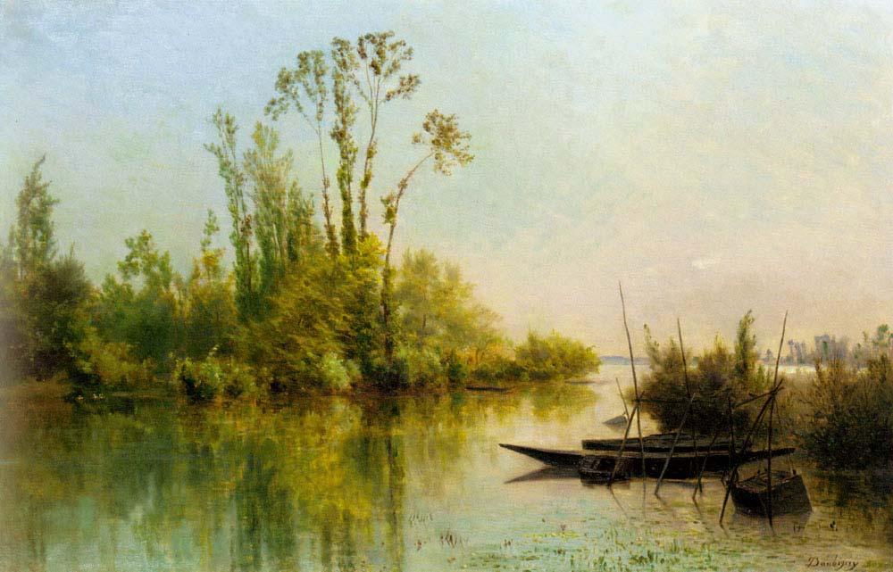 Charles Francois Daubigny Virgin Adaları