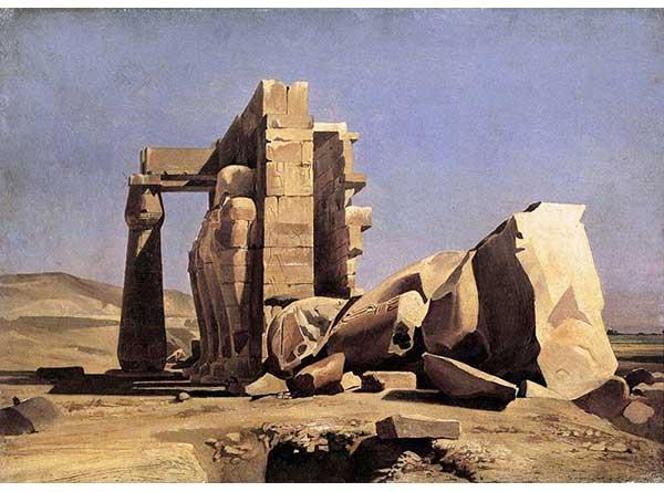 Charles Gleyre Mısır Tapınağı