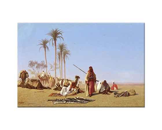 Charles Theodore Frere Bir Arap Kampında Mola