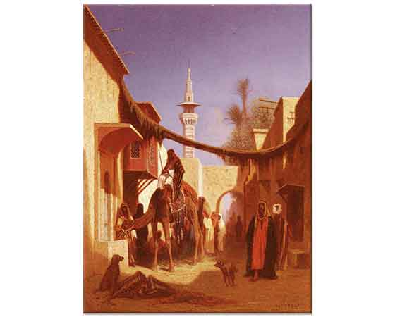 Charles Theodore Frere Kahire'de Sokak