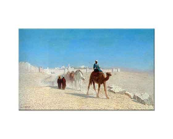 Charles Theodore Frere Kudüs'ten Çıkış