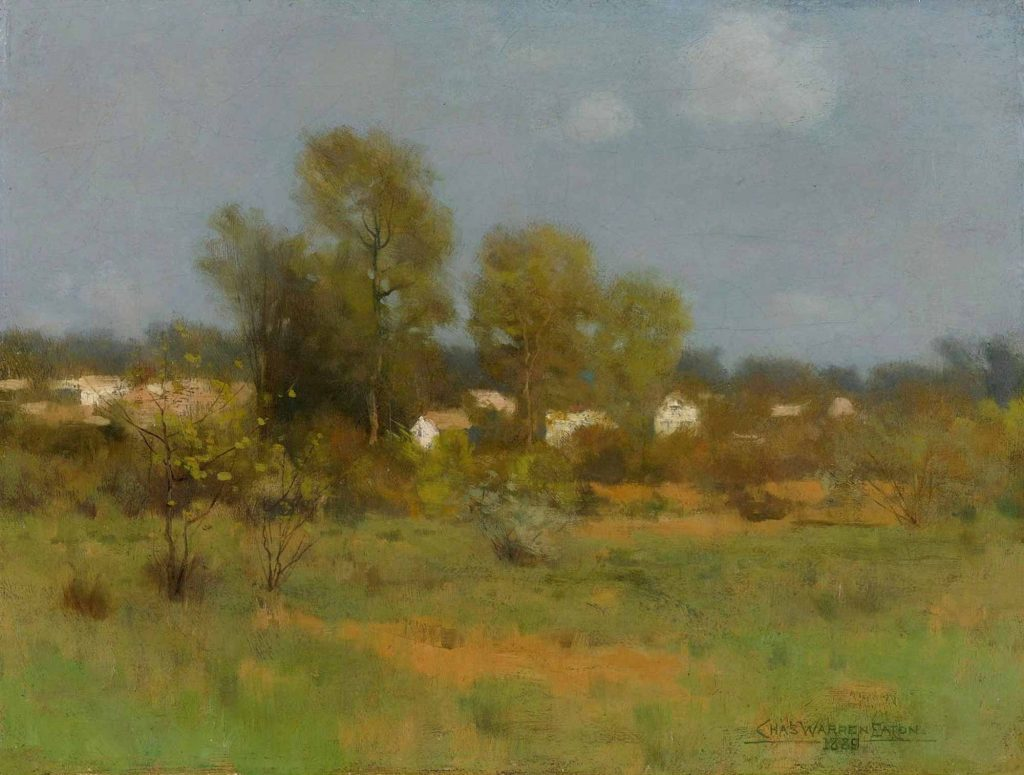 Charles Warren Eaton, Bahar