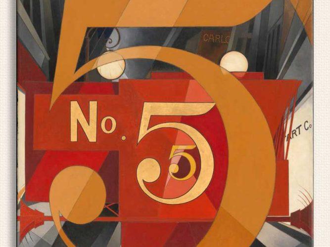 Charles Demuth Altın içindeki 5 Figürü