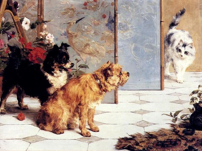 Charles van den Eycken Oyun Arkadaşları