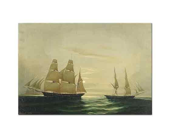 Cheri Francois Dubreuil Yelkenli Gemileri